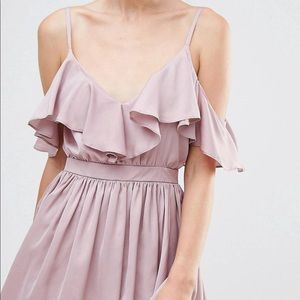 ASOS Mauve Party Dress | XS | NWT